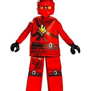 Lego Ninjago Kai Prestige Costume Disguise, M 7-8
